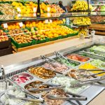 Natural food stores salad bar