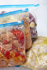 Chicken Crockpot Freezer Meals