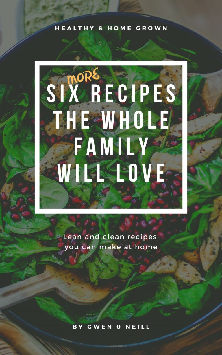 SIX MORE RECIPES THE WHOLE FAMILY WILL LOVE (1)