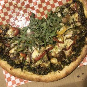 tidepool pesto pizza
