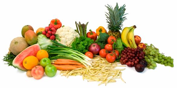 skin fruits & veg